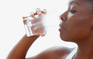 woman water vitamin